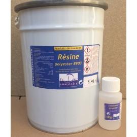 Stratification polyester - 5kg avec cata