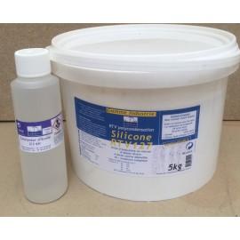 Silicone RTV 127 5kg avec catalyseur