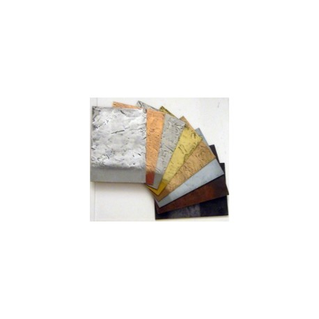 Aqua metalic zinc