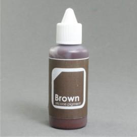 Colorant Silicone Brun 50gr