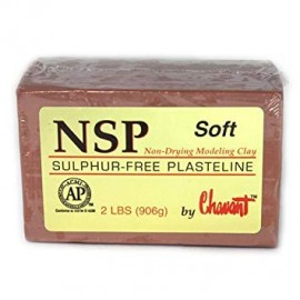 NSP Hard Chavant Marron 906gr