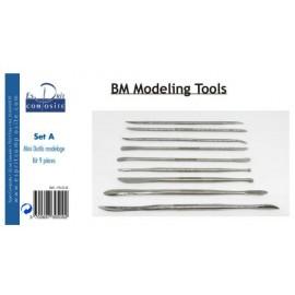 Set A mini outils modelage spatules kit de 9 pièces