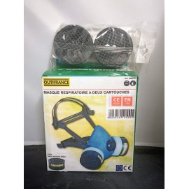 Masque protection 1/2M NU/2 Cartouche avec valve Resp