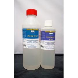 Résine epoxy EC 161 - kit 1,5kg